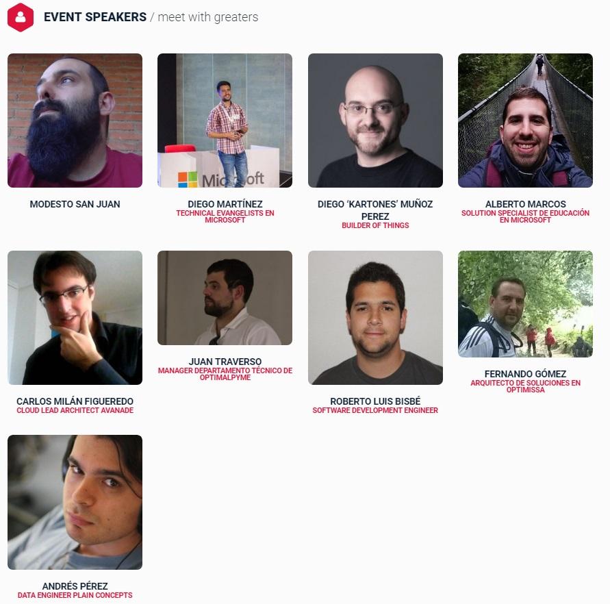 Speakers MindCamp 8.0